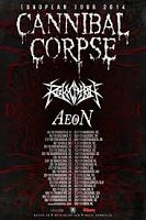 AEON, REVOCATION, CANNIBAL CORPSE