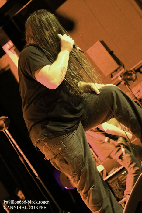 Cannibal corpse, the black dahlia murder, in arkadia