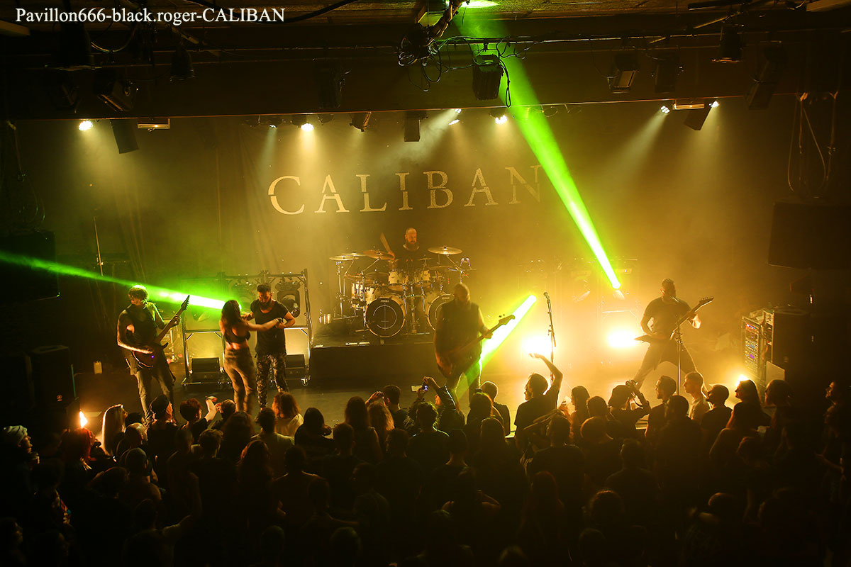 Caliban, lionheart, bad omens
