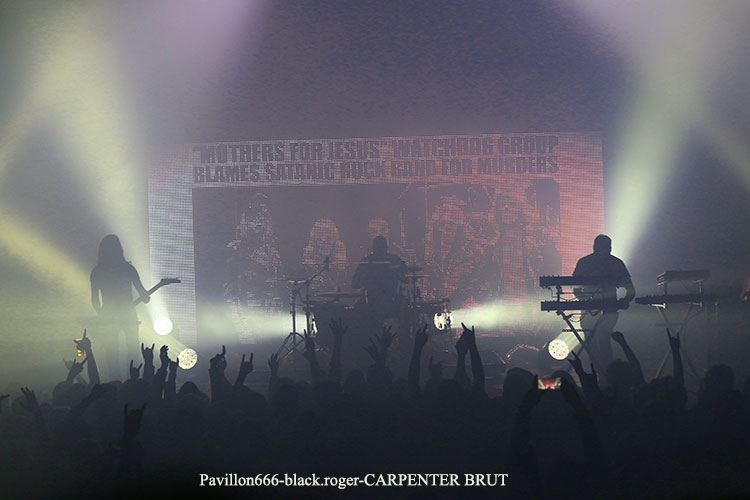 CARPENTER BRUT - 13-03-2018