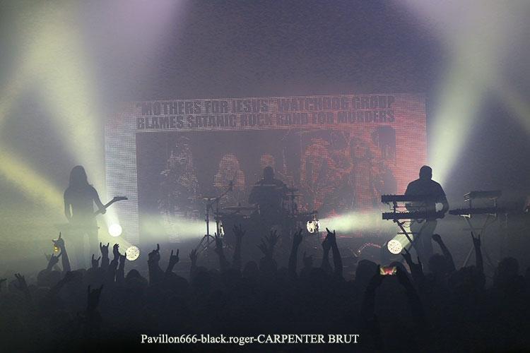 CARPENTER BRUT - 13-03-2018
