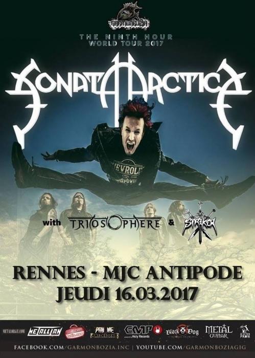 SONATA ARCTICA - 16-03-2017