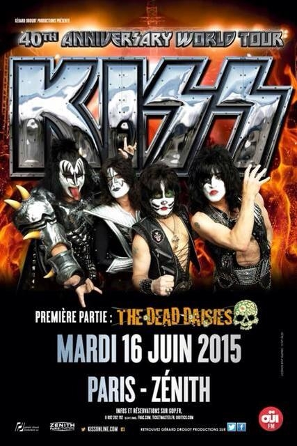 Kiss, the dead daisies