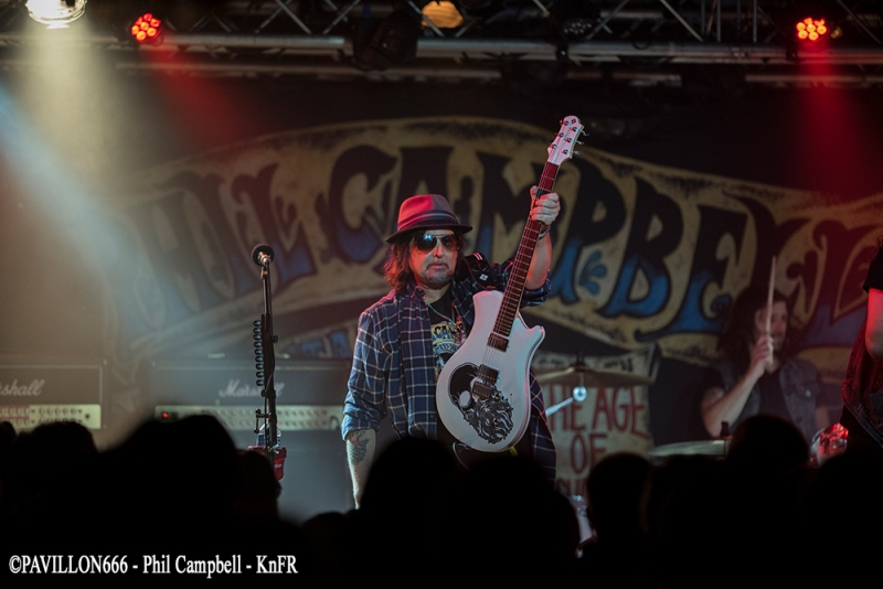 PHIL CAMPBELL & BASTARD SONS  - 19-03-2018