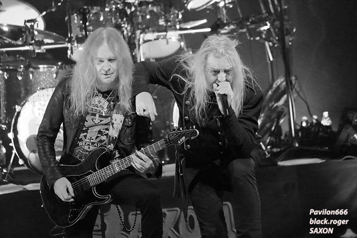 Saxon, girlschool