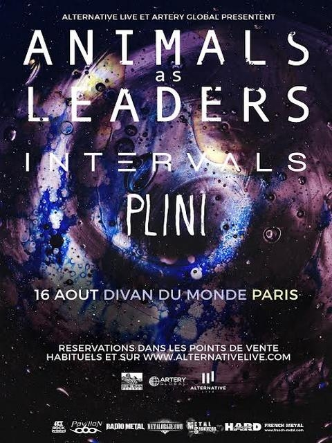 ANIMALS AS LEADERS - 16-08-2016