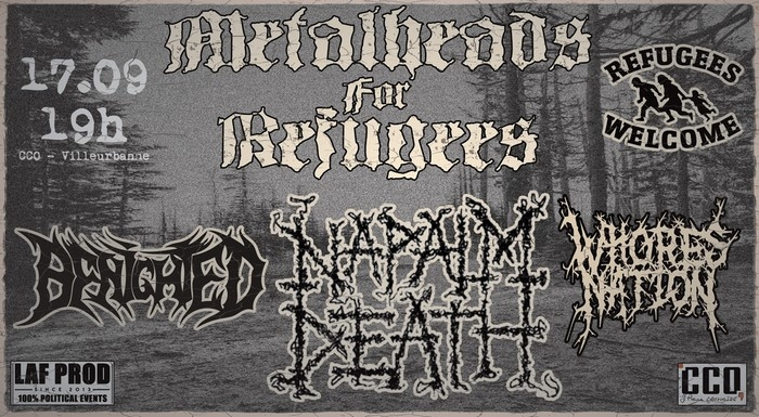 Naplam Death, Benighted, Whores Nation