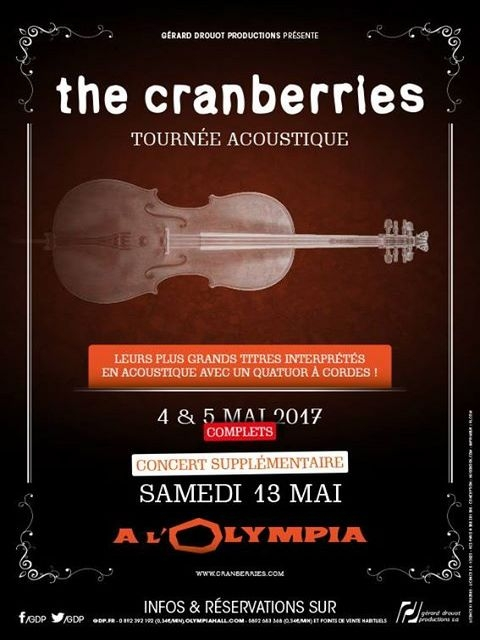 THE CRANBERRIES - 13-05-2017