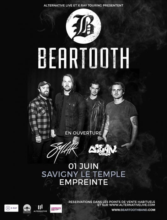 BEARTOOTH - 01-06-2017