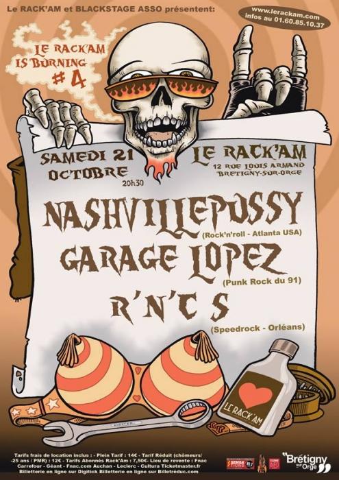 NASHVILLE PUSSY - 21-10-2017