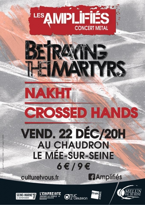 CROSSED HANDS, NAKHT, BETRAYING THE MARTYRS