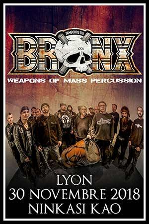 Les Tambours du Bronx, Acyl