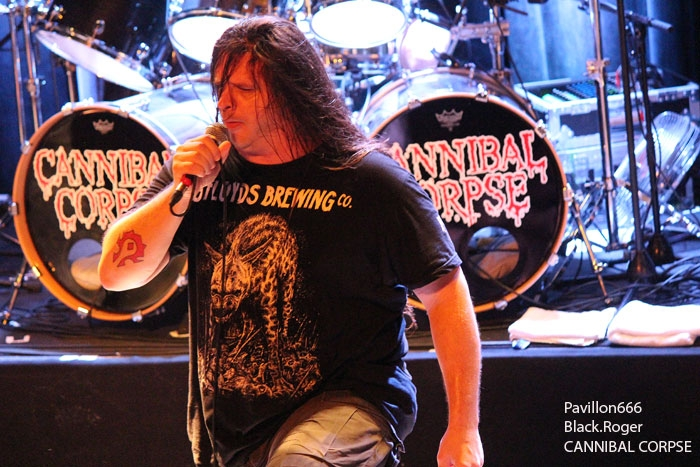 CANNIBAL CORPSE - 23-10-2014