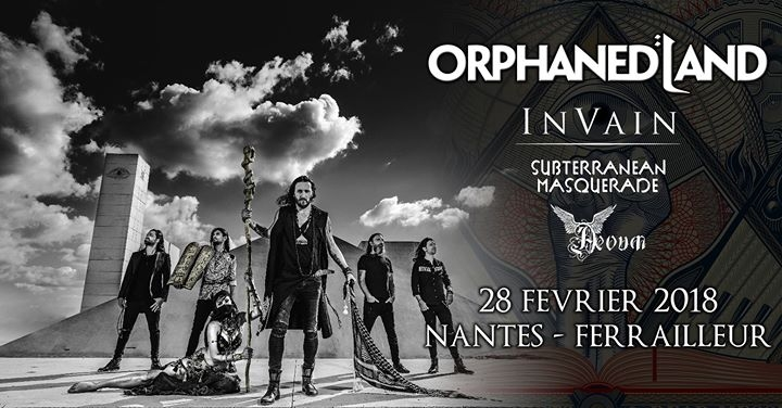 ORPHANED LAND - 28-02-2018