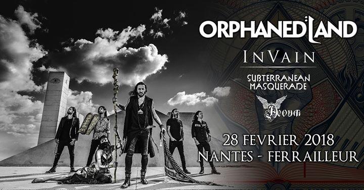 ORPHANED LAND - 28-02-2018