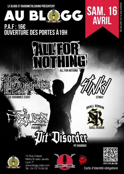 ALL FOR NOTHING - 16-04-2016