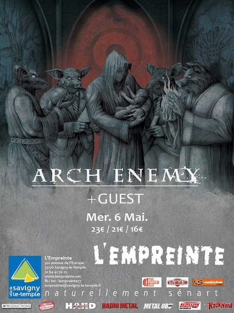 DRONE, UNEARTH, ARCH ENEMY
