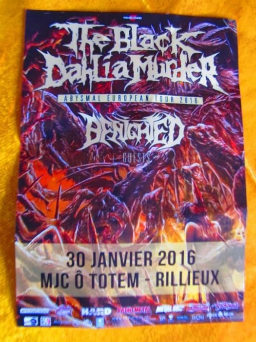 THE BLACK DAHLIA MURDER - 30-01-2016