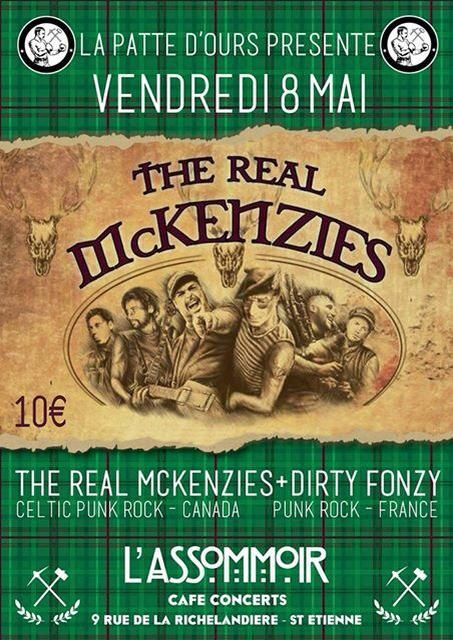 Dirty Fonzy01, The Real mcKenzies02
