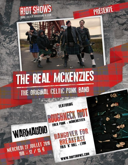 Hangover for Breakfast01, The Roughneck Riot02, The Real McKenzies03