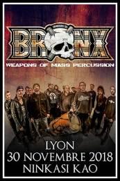 2018.11.30 - LES TAMBOURS DU BRONX - Lyon