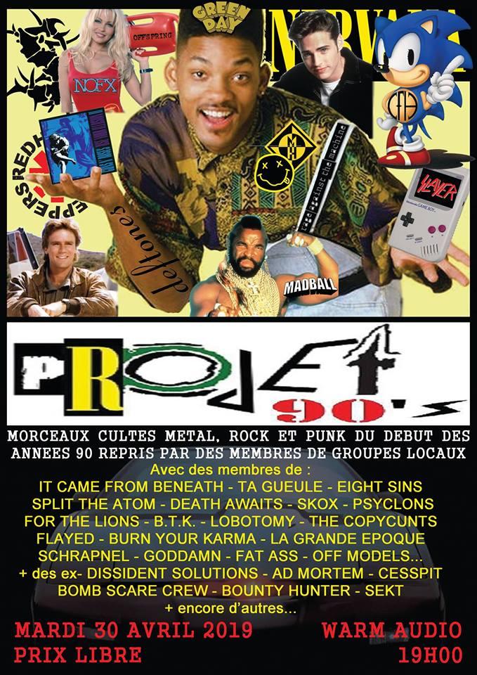 PROJET 90'S - 30-04-2019
